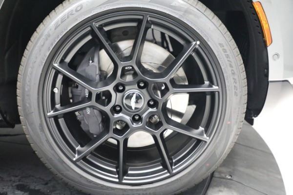 New 2021 Aston Martin DBX for sale $202,286 at Alfa Romeo of Westport in Westport CT 06880 28