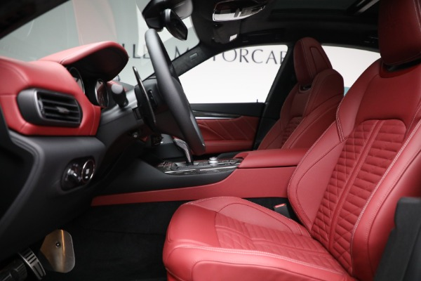 New 2022 Maserati Levante Trofeo for sale $155,045 at Alfa Romeo of Westport in Westport CT 06880 14