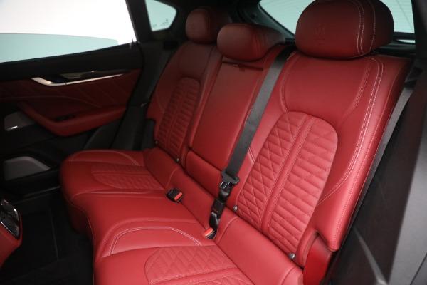 New 2022 Maserati Levante Trofeo for sale $155,045 at Alfa Romeo of Westport in Westport CT 06880 24