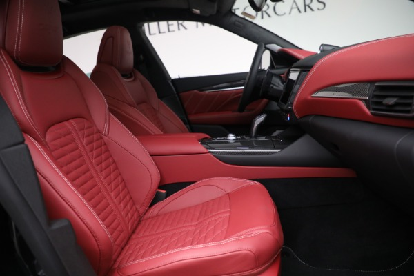 New 2022 Maserati Levante Trofeo for sale $155,045 at Alfa Romeo of Westport in Westport CT 06880 27