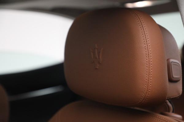New 2022 Maserati Ghibli Modena Q4 for sale $86,645 at Alfa Romeo of Westport in Westport CT 06880 16
