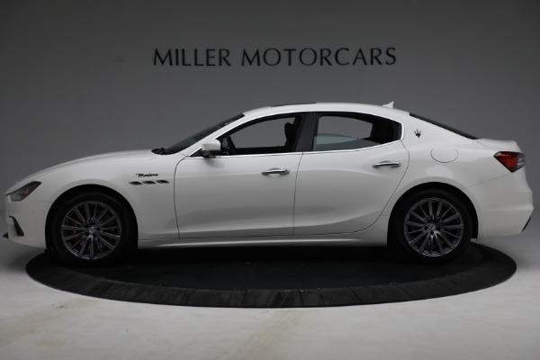 New 2022 Maserati Ghibli Modena Q4 for sale $86,645 at Alfa Romeo of Westport in Westport CT 06880 3