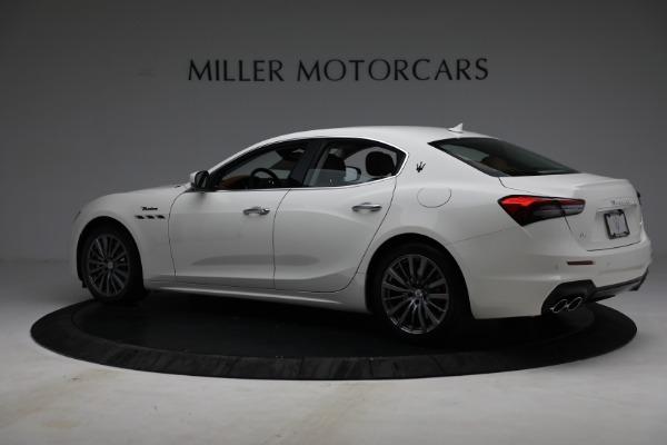 New 2022 Maserati Ghibli Modena Q4 for sale $86,645 at Alfa Romeo of Westport in Westport CT 06880 4