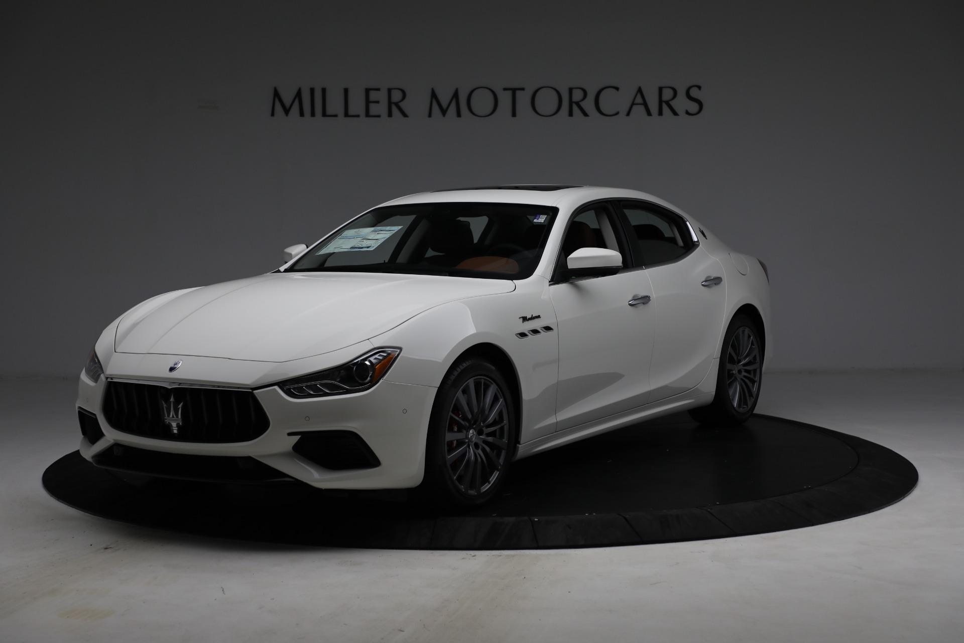 New 2022 Maserati Ghibli Modena Q4 for sale $86,645 at Alfa Romeo of Westport in Westport CT 06880 1
