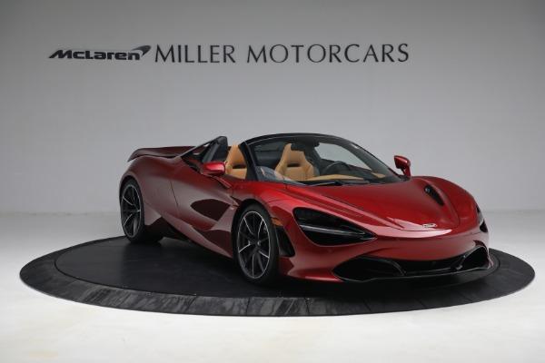 New 2022 McLaren 720S Spider for sale $382,090 at Alfa Romeo of Westport in Westport CT 06880 11