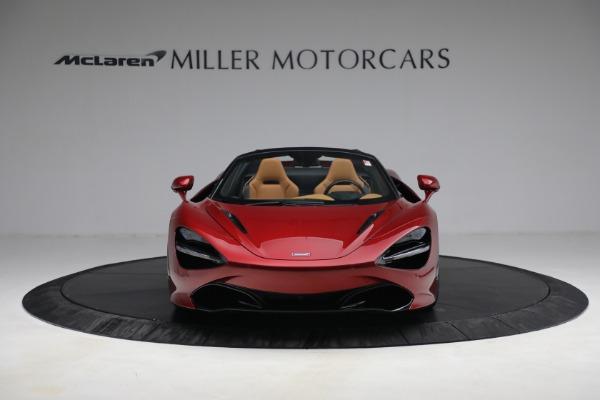 New 2022 McLaren 720S Spider for sale $382,090 at Alfa Romeo of Westport in Westport CT 06880 12