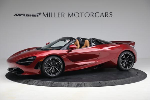New 2022 McLaren 720S Spider for sale $382,090 at Alfa Romeo of Westport in Westport CT 06880 2