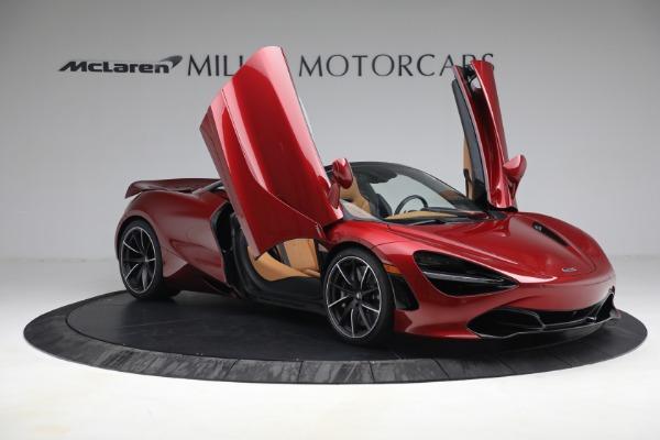 New 2022 McLaren 720S Spider for sale $382,090 at Alfa Romeo of Westport in Westport CT 06880 20