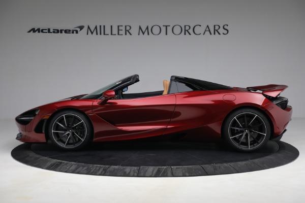 New 2022 McLaren 720S Spider for sale $382,090 at Alfa Romeo of Westport in Westport CT 06880 3