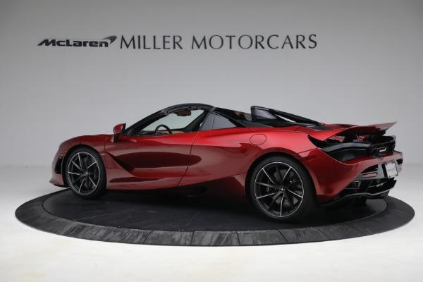 New 2022 McLaren 720S Spider for sale $382,090 at Alfa Romeo of Westport in Westport CT 06880 4