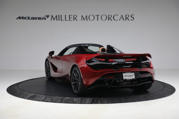 New 2022 McLaren 720S Spider for sale $382,090 at Alfa Romeo of Westport in Westport CT 06880 5