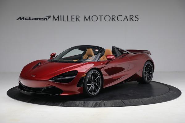 New 2022 McLaren 720S Spider for sale $382,090 at Alfa Romeo of Westport in Westport CT 06880 1