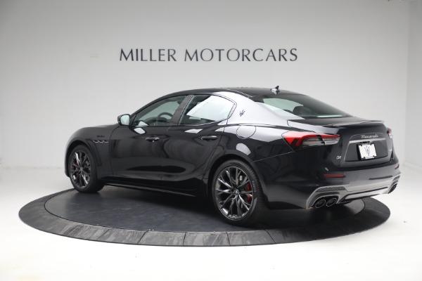 New 2022 Maserati Ghibli Modena Q4 for sale $103,855 at Alfa Romeo of Westport in Westport CT 06880 4