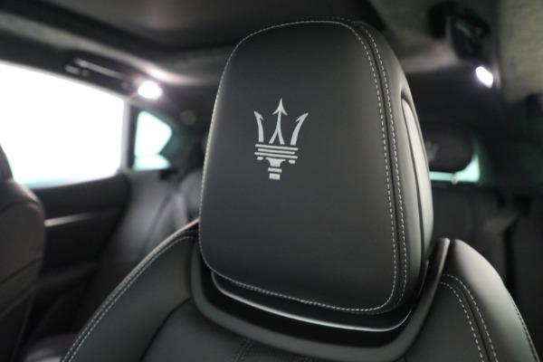 New 2022 Maserati Levante Modena for sale $108,775 at Alfa Romeo of Westport in Westport CT 06880 19