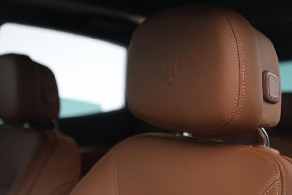New 2022 Maserati Levante Modena for sale $104,545 at Alfa Romeo of Westport in Westport CT 06880 16