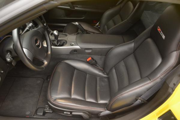 Used 2006 Chevrolet Corvette Z06 Hardtop for sale Sold at Alfa Romeo of Westport in Westport CT 06880 13