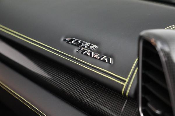 Used 2011 Ferrari 458 Italia for sale $229,900 at Alfa Romeo of Westport in Westport CT 06880 23