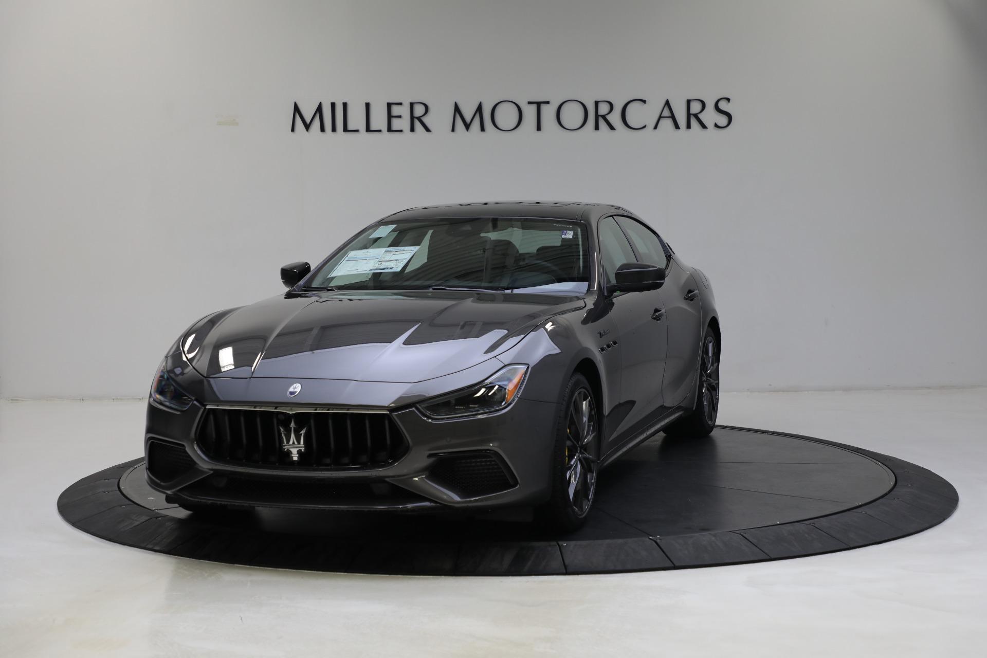 New 2022 Maserati Ghibli Modena Q4 for sale $103,855 at Alfa Romeo of Westport in Westport CT 06880 1