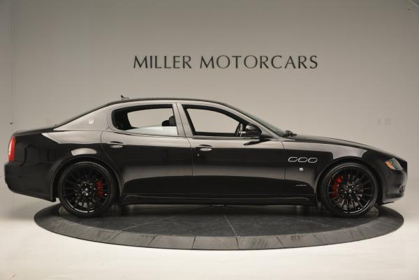 Used 2011 Maserati Quattroporte Sport GT S for sale Sold at Alfa Romeo of Westport in Westport CT 06880 9