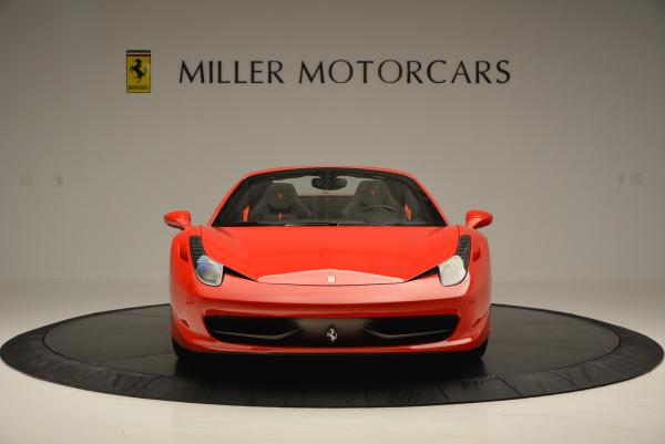 Used 2015 Ferrari 458 Spider for sale Sold at Alfa Romeo of Westport in Westport CT 06880 12