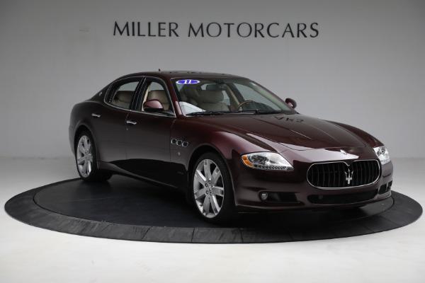 Used 2011 Maserati Quattroporte for sale Sold at Alfa Romeo of Westport in Westport CT 06880 12