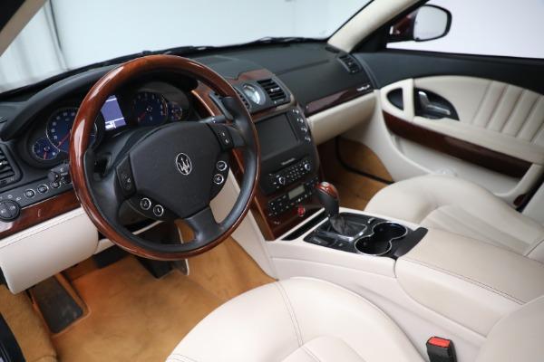 Used 2011 Maserati Quattroporte for sale Sold at Alfa Romeo of Westport in Westport CT 06880 14