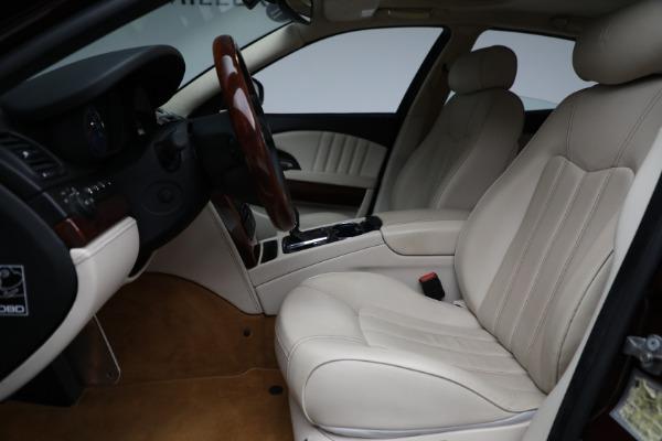 Used 2011 Maserati Quattroporte for sale Sold at Alfa Romeo of Westport in Westport CT 06880 15