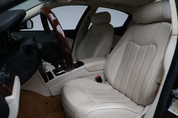 Used 2011 Maserati Quattroporte for sale Sold at Alfa Romeo of Westport in Westport CT 06880 16