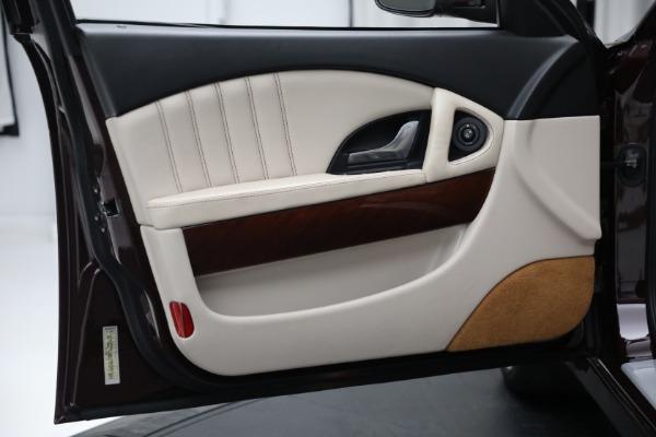 Used 2011 Maserati Quattroporte for sale Sold at Alfa Romeo of Westport in Westport CT 06880 17