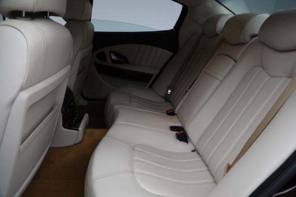 Used 2011 Maserati Quattroporte for sale Sold at Alfa Romeo of Westport in Westport CT 06880 19