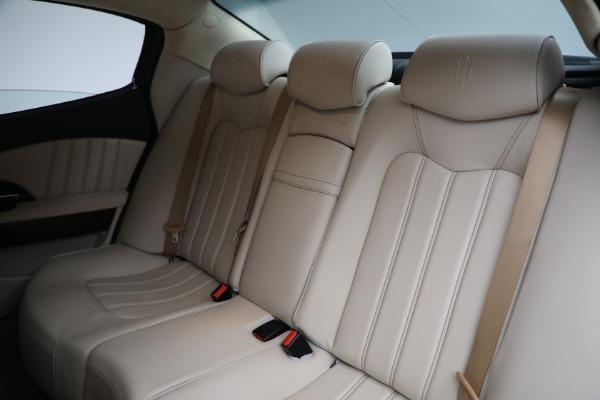 Used 2011 Maserati Quattroporte for sale Sold at Alfa Romeo of Westport in Westport CT 06880 20