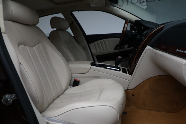 Used 2011 Maserati Quattroporte for sale Sold at Alfa Romeo of Westport in Westport CT 06880 23