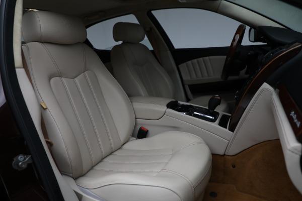 Used 2011 Maserati Quattroporte for sale Sold at Alfa Romeo of Westport in Westport CT 06880 24