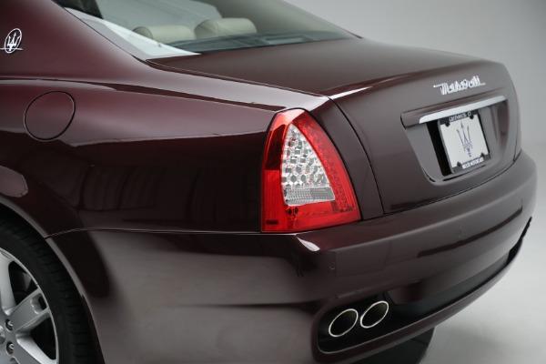 Used 2011 Maserati Quattroporte for sale Sold at Alfa Romeo of Westport in Westport CT 06880 25