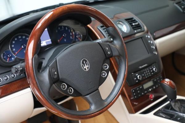 Used 2011 Maserati Quattroporte for sale Sold at Alfa Romeo of Westport in Westport CT 06880 27