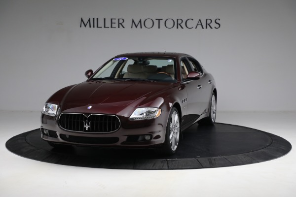 Used 2011 Maserati Quattroporte for sale Sold at Alfa Romeo of Westport in Westport CT 06880 1