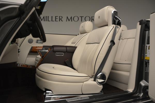 Used 2015 Rolls-Royce Phantom Drophead Coupe for sale Sold at Alfa Romeo of Westport in Westport CT 06880 26
