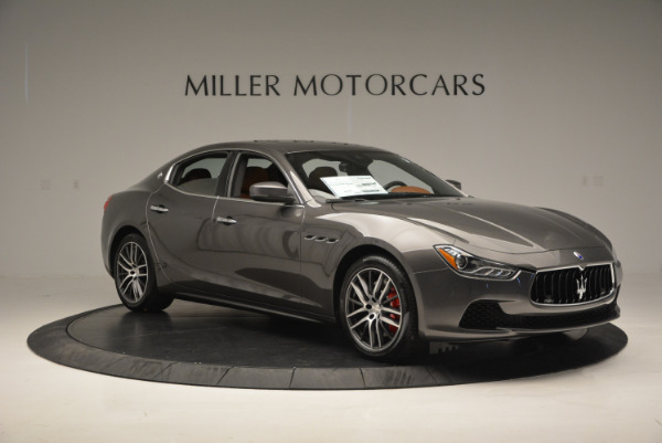 Used 2017 Maserati Ghibli S Q4  EX-LOANER for sale Sold at Alfa Romeo of Westport in Westport CT 06880 11