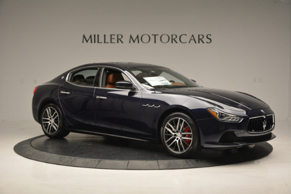 Used 2017 Maserati Ghibli S Q4 - EX Loaner for sale Sold at Alfa Romeo of Westport in Westport CT 06880 10