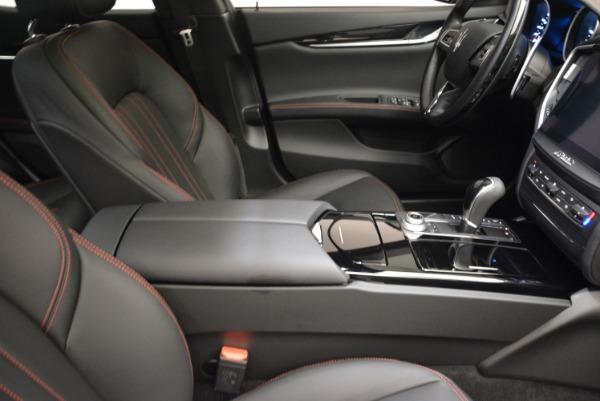 Used 2017 Maserati Ghibli S Q4 - EX Loaner for sale Sold at Alfa Romeo of Westport in Westport CT 06880 21