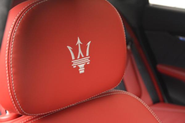 New 2017 Maserati Quattroporte S Q4 GranLusso for sale Sold at Alfa Romeo of Westport in Westport CT 06880 27