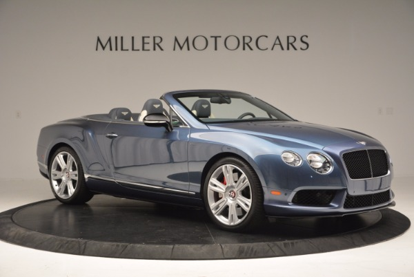 Used 2014 Bentley Continental GT V8 S Convertible for sale Sold at Alfa Romeo of Westport in Westport CT 06880 10