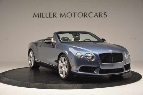 Used 2014 Bentley Continental GT V8 S Convertible for sale Sold at Alfa Romeo of Westport in Westport CT 06880 11