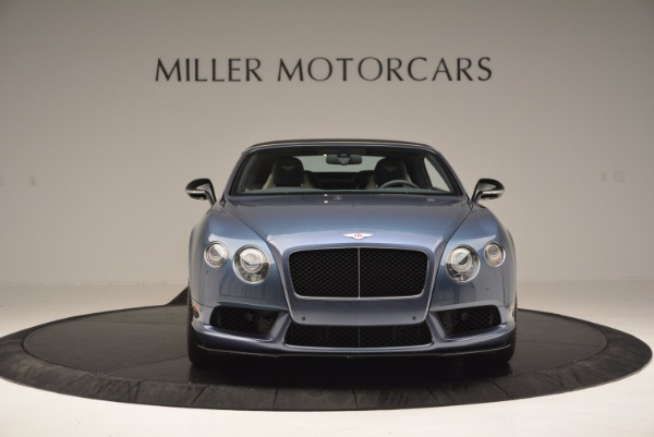 Used 2014 Bentley Continental GT V8 S Convertible for sale Sold at Alfa Romeo of Westport in Westport CT 06880 13