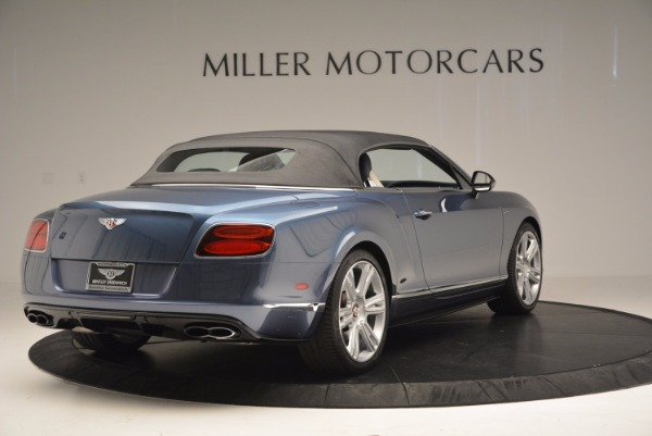 Used 2014 Bentley Continental GT V8 S Convertible for sale Sold at Alfa Romeo of Westport in Westport CT 06880 18