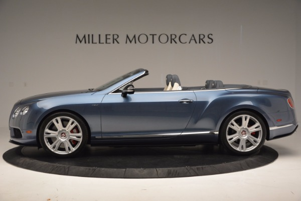 Used 2014 Bentley Continental GT V8 S Convertible for sale Sold at Alfa Romeo of Westport in Westport CT 06880 3