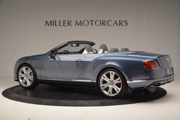 Used 2014 Bentley Continental GT V8 S Convertible for sale Sold at Alfa Romeo of Westport in Westport CT 06880 4