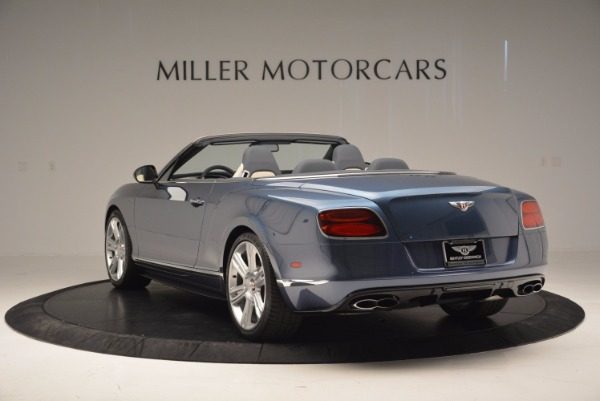 Used 2014 Bentley Continental GT V8 S Convertible for sale Sold at Alfa Romeo of Westport in Westport CT 06880 5