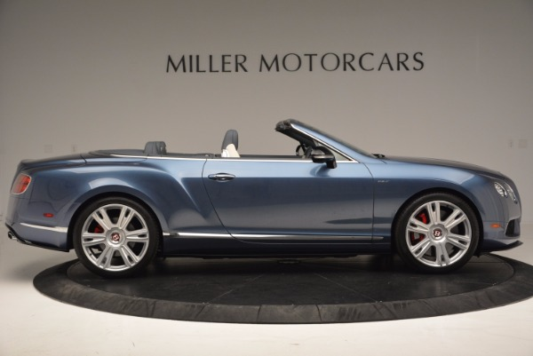 Used 2014 Bentley Continental GT V8 S Convertible for sale Sold at Alfa Romeo of Westport in Westport CT 06880 9