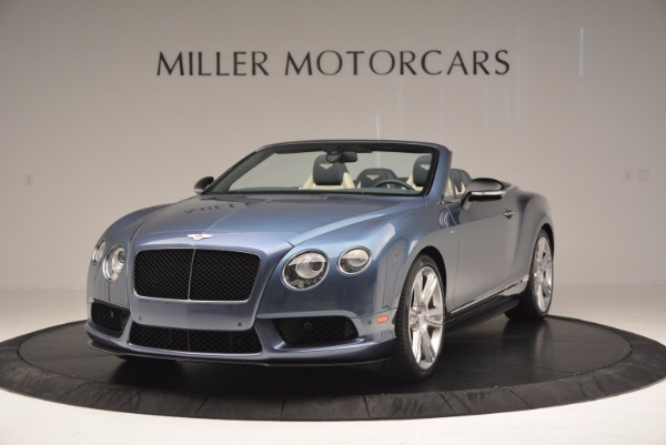 Used 2014 Bentley Continental GT V8 S Convertible for sale Sold at Alfa Romeo of Westport in Westport CT 06880 1